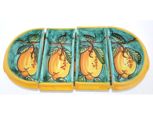 Appetizer set Lemon (oval shape)