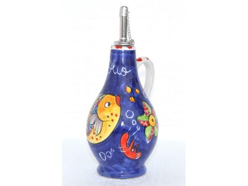 Bottiglia Olio Pesci blu