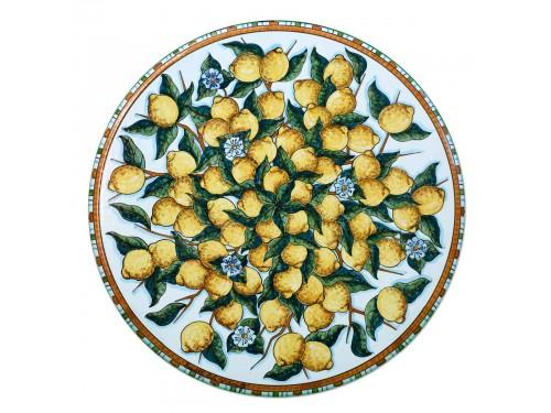 Tavolo caffè Limoni Bianco (da 40 a 60 cm)