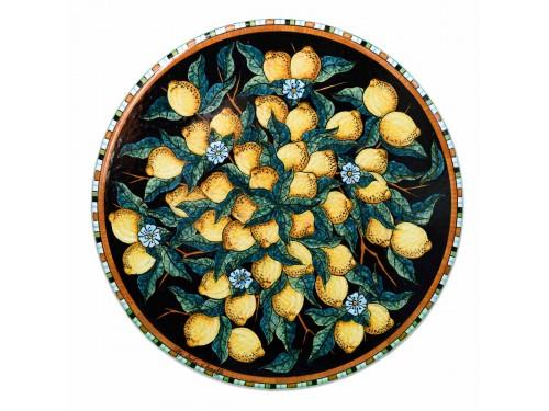 Tavolo Caffè Limoni Nero (da 40 a 60 cm)