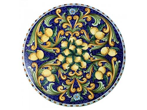 """Tavolo Caffè """" Limoni P."""" Blu (da 40 a 60 cm)"""