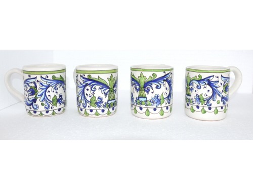 Set 4 Mugs Renaissance