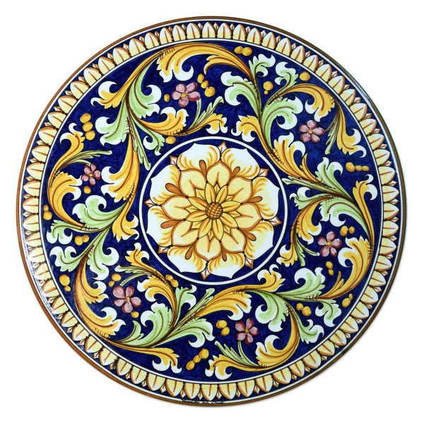 Coffee Table Barocco Blue