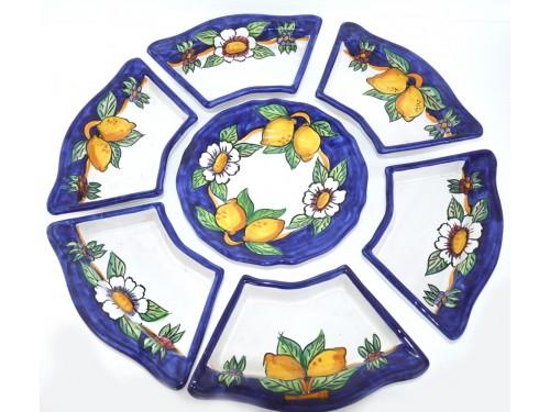Set Aperitivo Limoni Blu