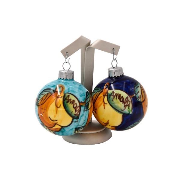 Christmas Ornament Lemon and Views