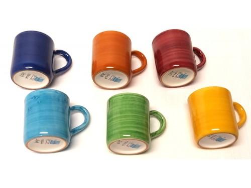 Set 6 Bicchieri Monocolore