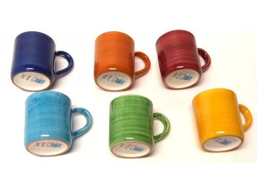 Set 6 Mugs Monocolor