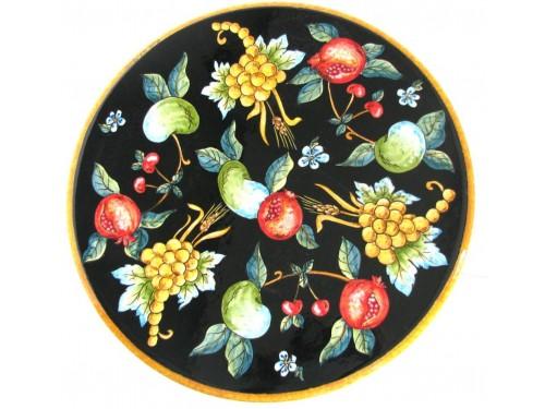 """Tavolo Caffè """"Frutta Nero"""" (da 40 a 60cm)"""