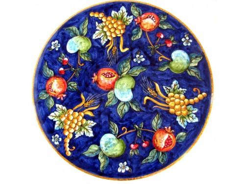 """Tavolo Caffè """"Frutta Blu"""" (da 40 a 60 cm)"""