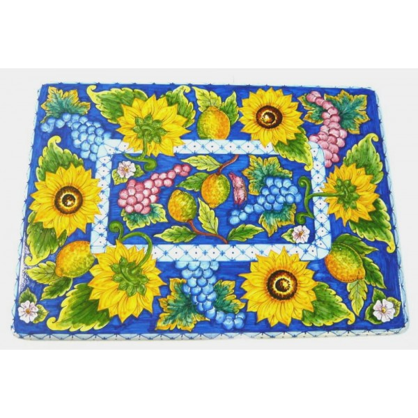 Rectangular Coffee Table Sunflowers