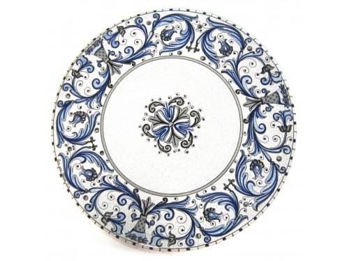 Tavolo Caffè Rinascimento Blu (da 40 a 60 cm)