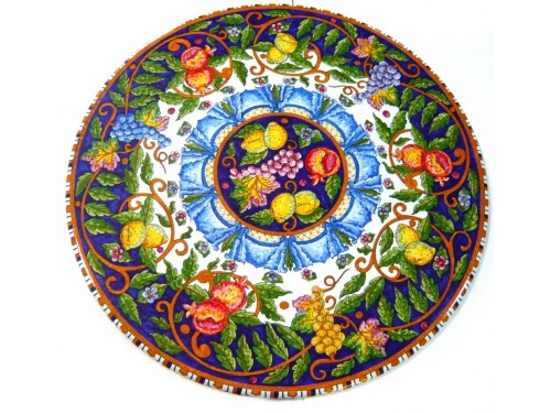 Table Mixed Fruit Blue - White (from 27,55 to 47,20 inches)