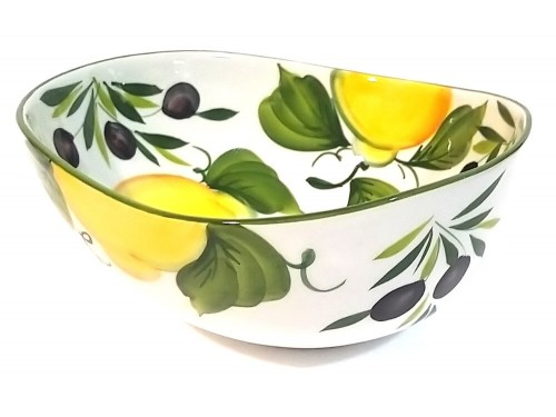 Centrotavola Limoni Olive