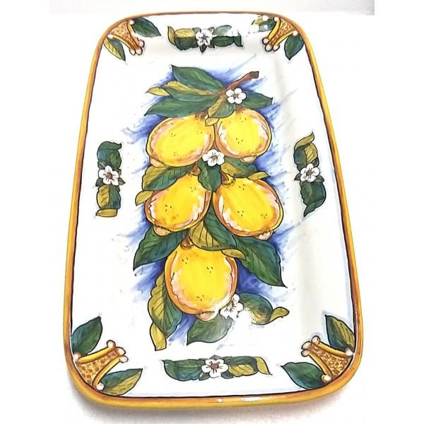 Rectangular Plate Lemon Conca