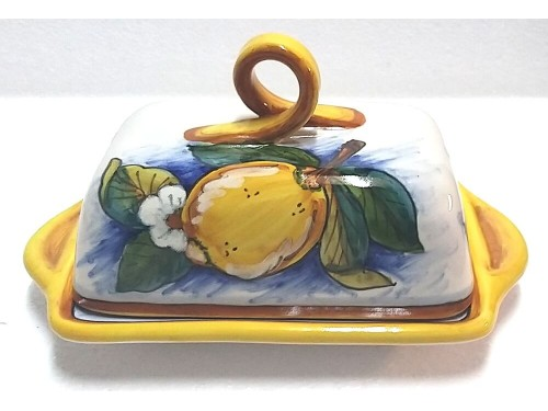 Butter Dish Lemon Conca