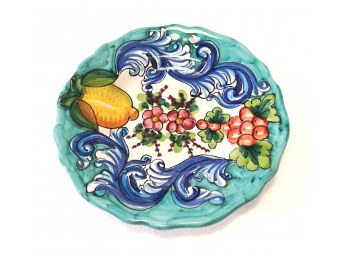 Salad Plate Barocco green