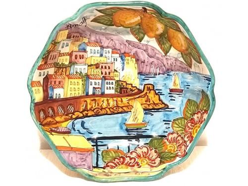 Round Sim Bowl Amalfi Green