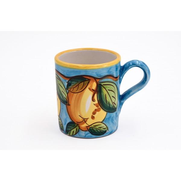 Mug Lemon light blue