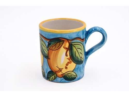 Mug Lemon light blue