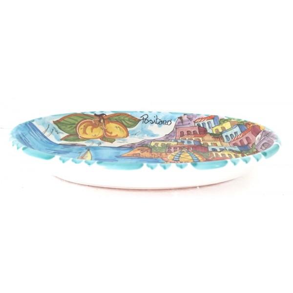 Oval Plate Positano