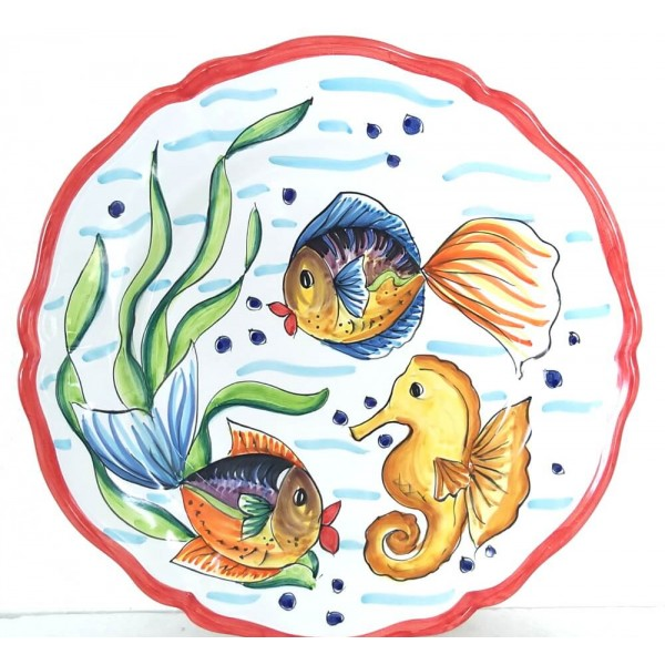 Round Plate Fishes B
