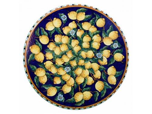 Tavolo Caffè Limoni Blu (da 40 a 60 cm)