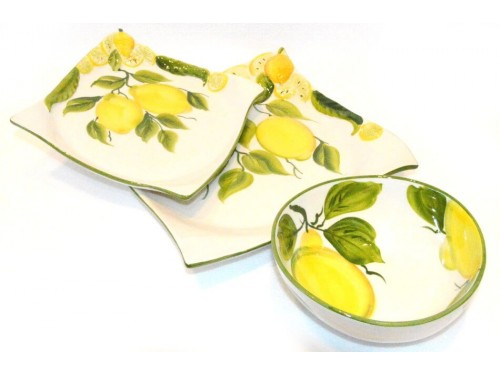 Set Dishes Lemon B.