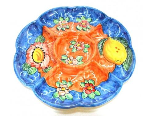 Appetizer Lemon Flower blue
