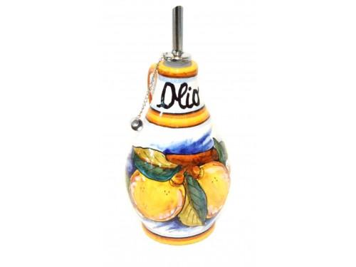 Bottiglia Olio Limoni Conca