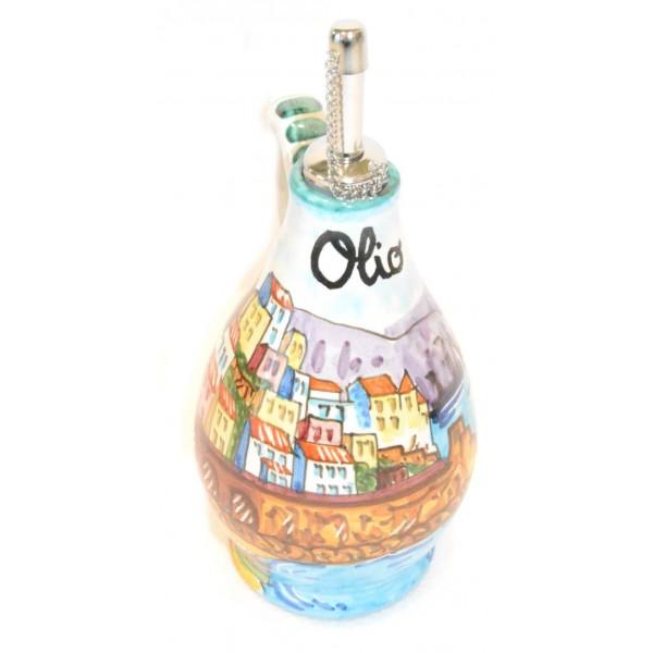 Oil Bottle Amalfi Green