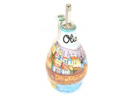 Oil Bottle Amalfi Green