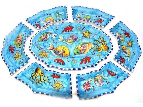 Antipasti set Fishes