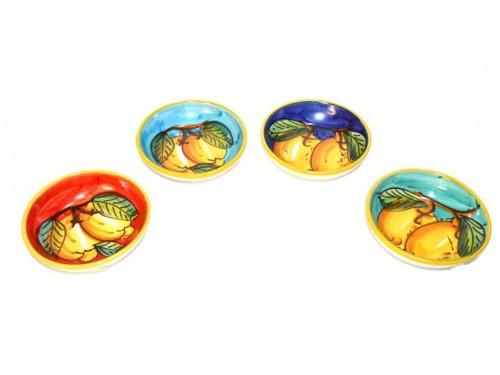 Appetizer bowls lemon (set 4 pieces)
