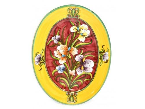 Oval Plate Iris