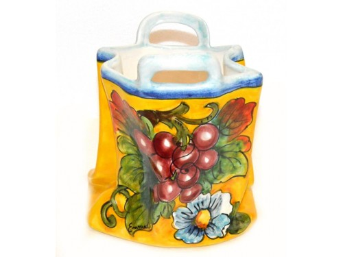 Bag Grapes (Vase - Utensil Holder)