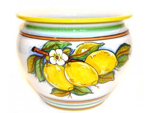 Plant Pot Lemon diameter 7,80 inches