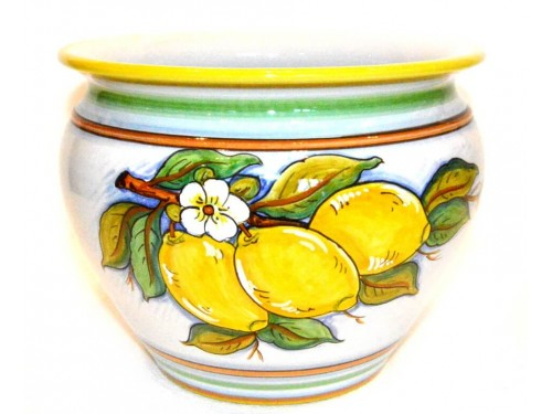 Porta fiori Limoni 20 cm