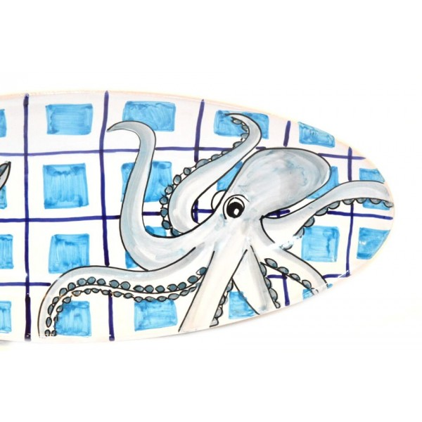Oval (pointy) Plate Octopus