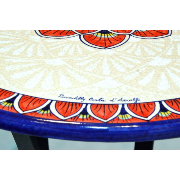 Coffee Table Peacock Red