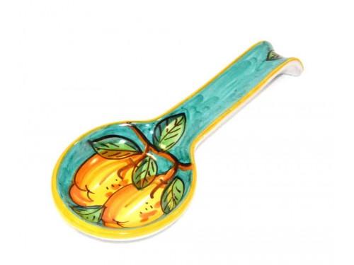 Big Spoon Rest Lemon Green