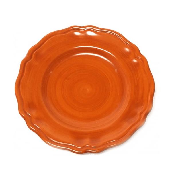 Salad Plate orange