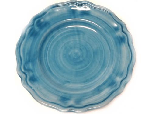 Salad Plate light blue