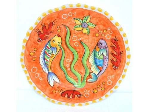 Dinner Plate Fishes orange