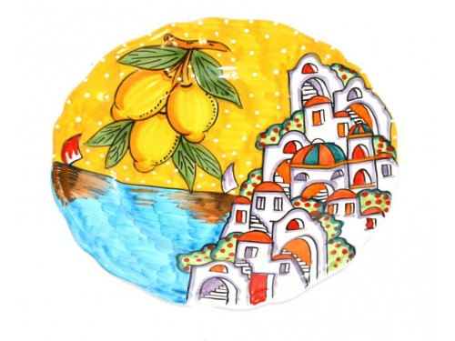 Dinner Plate Houses yellow