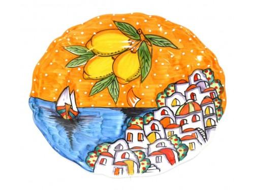 Dinner Plate Houses orange