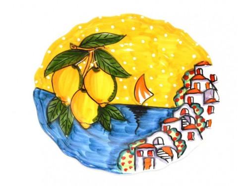 Salad Plate Houses yellow
