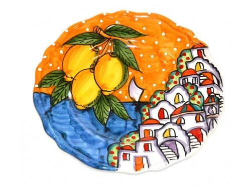 Salad Plate Houses orange
