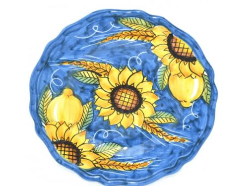 Salad Plate Sunflower