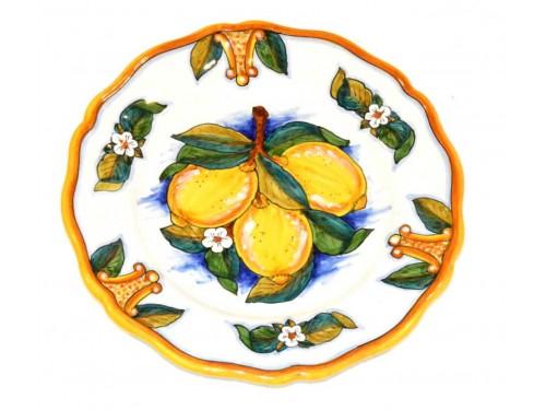 Dinner Plate Lemon Conca