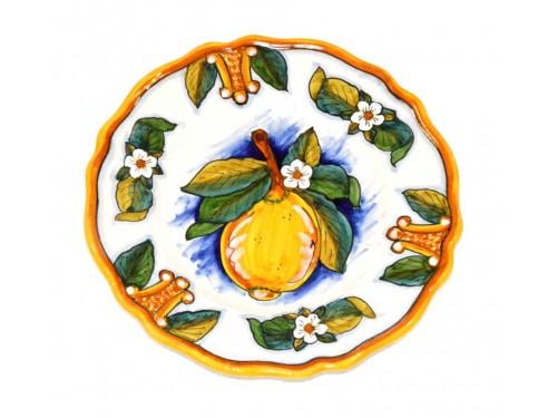 Salad Plate Lemon Conca